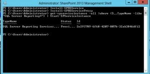 SharePoint Config Commands